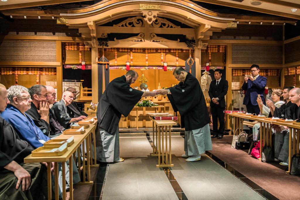 Ceremonia w Omiya - kwiecień 2017