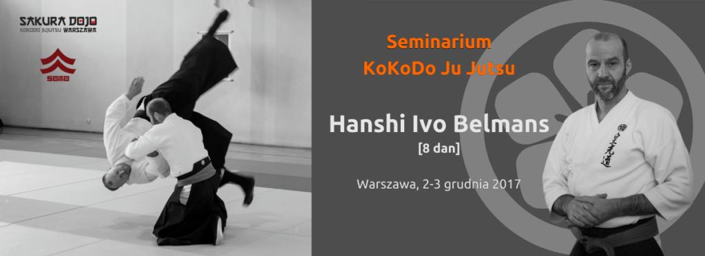 Seminarium KoKoDo Ju Jutsu Warszawa 2017