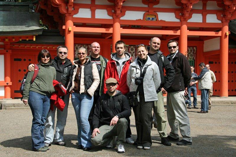 Ekipa Sakura Dojo Japonia 2010